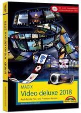 MAGIX Video deluxe 2018 - Das Buch zur Software. Die besten Tipps und Tricks für alle Versionen inkl. Plus, Premium, Control und 360 von Martin Quedenbaum (2017, Gebundene Ausgabe)