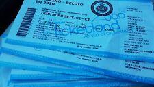 Ticket San Marino Saint Marin Belgique Belgie Belgium 06/09/2019 Euro 2020