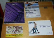 HEATHROW TERMINAL 2 THE QUEEN'S TERMINAL BOOKLETS EXPANSION POSTCARD