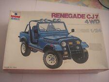Maquette Jeep Renegade CJ7 4WD 1/24 - ESCI