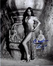 CAROLINE MUNRO REPRINT SIGNED 8X10 PHOTO AUTOGRAPHED PICTURE CHRISTMAS GIFT