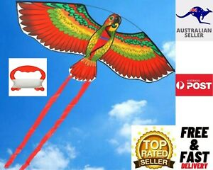 Bird Parrot Steady With String Kite Outdoor Adult Fun Sports-Kids Toys AUS