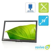 """ViewSonic VG2436wm-LED 24"""" FHD 1920x1080 Monitor DVI VGA (Monitor Only) Grade B"""