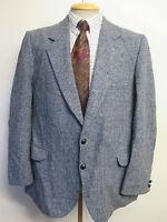 "Genuine Harris Tweed men's grey blazer Jacket 42"" R Euro 52"