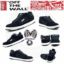 VANS Docket (Suede) Black/White M7