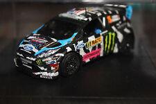 RARE 1/43 FORD FIESTA RS WRC #15 KEN BLOCK - RALLYE RACC 2014 Homemade