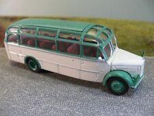 1/87 Brekina Gräf & plumilla 120 OGL Glockner autobús gris blanco/verde 58086