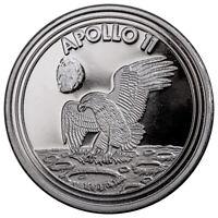 2019 Apollo 11 1 oz Silver Round GEM BU SKU58218