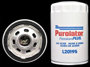 Engine Oil Filter-VIN: 2, FI Purolator L20195