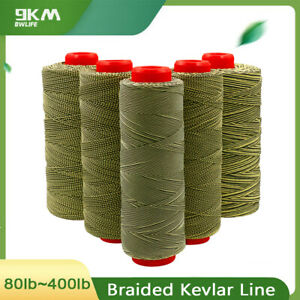 Kevlar Braided Line High Strength Strings for Sea Fishing Tools Made with Kevlar