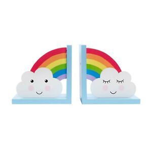 Sass & Belle Day Dreams Wooden Bookends Childrens Room Reduced to Clear