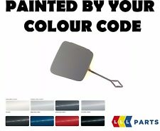 BMW NEW GENUINE I3 REAR BUMPER TOW HOOK EYE COVER PAINTED BY YOUR COLOUR CODE