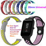 Universal Wrist Strap Silicone Bracelet For Amazfit Bip Samsung Gear Sport S2