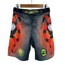 Tatami Fightwear Honey Badger MMA Fight Shorts Muay Thai Size 30