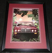 1987 Jaguar XJ6 Framed 11x14 ORIGINAL Vintage Advertisement