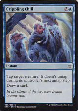 Crippling Chill X 4 Magic the Gathering Khans of Tarkir Set NMint-Mint Condition