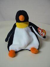 Ty Beanie Baby WADDLE Plush Yellow Orange and Black Penguin Original