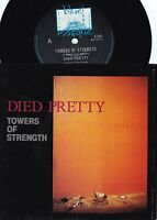 Died Pretty ORIG OZ PS 45 Towers of strength NM '88 Blue Mosque Alt Rock
