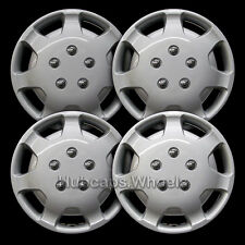 """Universal Silver 14"""" Hubcap - All Years - Set of 4 - 61058"""