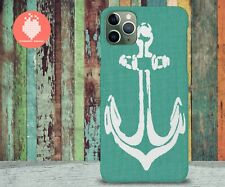 Blue White Anchor Nautical-Case for iPhone 11 Pro/Max/X/XR/S10/S10 Plus/S9