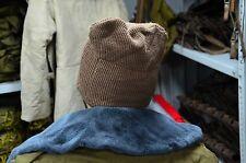 Vintage Wool Winter Soviet Russian Army Hat Balaclava Face Mask