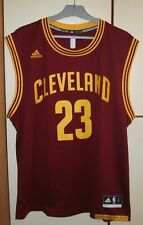 Cleveland Cavaliers Basketball NBA jersey adidas size L LeBron James #23