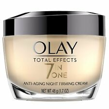 Olay Total Effects Anti-Aging Night Firming Cream & Face Moisturizer, 1.7oz