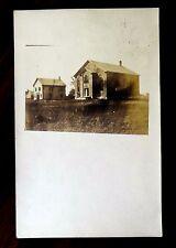 Brandon Vermont Vt Photo Postcard 1908 rppc buildings