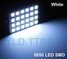 White 24 LED 5050 SMD Reading Panel Light Car Auto Interior Dome Box Lamp 12V
