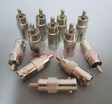 10x Adapter Cinch Stecker auf BNC-Buchse