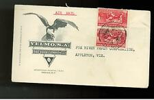 1941 Mexico Velmo Company Commercial Illustrated Cover