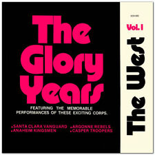 1974  The Glory Years The West - Vol. 1 Drum Corps CD