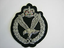 Army Air Corps Wire Embroidered Bullion Blazer Badge - British Army  Military
