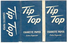 Vintage Cigarette Tobacco Papers TIP TOP English BLUE