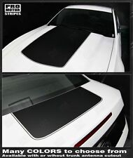 Ford Mustang Hood and Trunk Stripes 2013 2014 2010 2011 2012 Decals Pro Motor