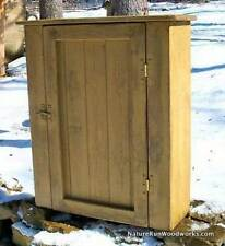 Primitive Handcrafted Wall Cupboard (cambridge)