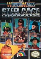 WWF Wrestle Mania Steel Cage Challenge Nintendo NES Game Used