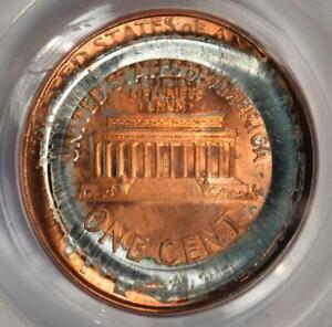 1998 PCGS MS67RD Double Struck Reverse Die Cap Lincoln Cent Mint Error Wow