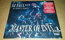 NEW DJ PAUL MASTER OF EVIL CD INSANE CLOWN POSSE THREE 6 MAFIA KILLJOY CLUB ICP