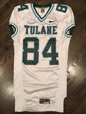 534b25586 Game Worn Used Nike Tulane Green Wave Football Jersey  84 Size M