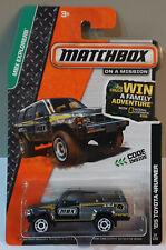 MATCHBOX/'85 TOYOTA 4 RUNNER MODELLO DI AUTO Model Car NUOVO /& OVP