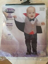 Baby Boy Vampire Fancy Dress Halloween  Costume Size 12-24 months