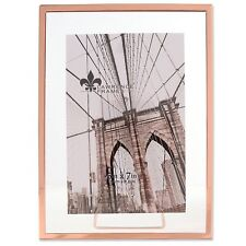 Lawrence 5x7 Garett Metal Float Picture Frame - Copper (Same Shipping Any Qty)