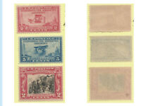 US Stamps, 1928-29 issues, 649, 650 and 65, MNH, OG, VF+ Centering, Fresh, Brigh