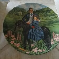 Knowles Bonnie and Rhett Plate Mint in Original Box: Heavenly Paws Rescue