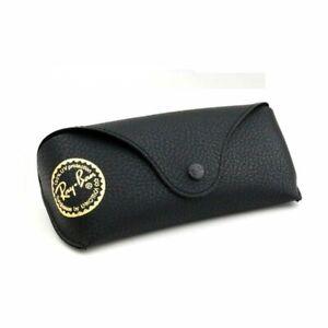 RAY BAN Case Scabbard Black Small Depth 3MM Black Glasses Bag Pouch