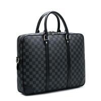 Luxury Handbags Fashion Briefcase Laptop Bag Pu Leather Shoulder Messenger Bag