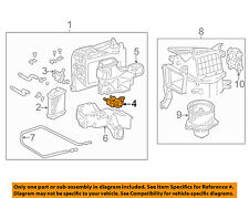 TOYOTA OEM 01-07 Sequoia 4.7L-V8 Heater-Servo 871060C040