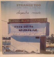 DEPECHE MODE Laserdisc Strange Too Music Videos LD SEALED