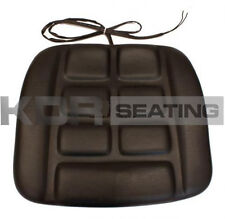 GRAMMER GS12 B12 TYPE SEAT CUSHION ONLY IN PVC with SWITCH - FORKLIFT LINDE ETC